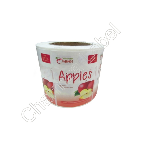 Custom Adhesive Fruit Sticker Laminated Labels