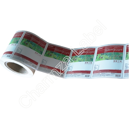 Custom pharmaceutical label printing
