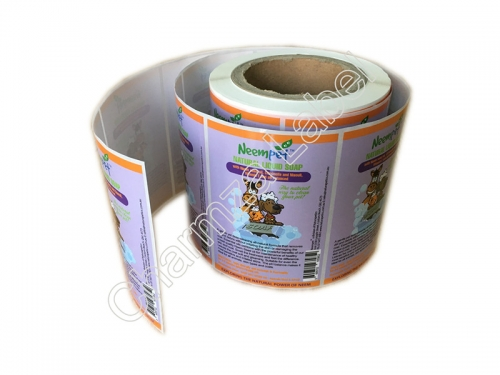 Custom Adhesive Bopp Soap Label