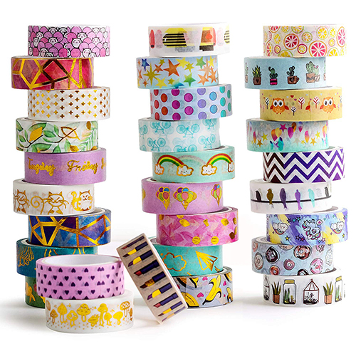Gold Foil Washi Tape Custom