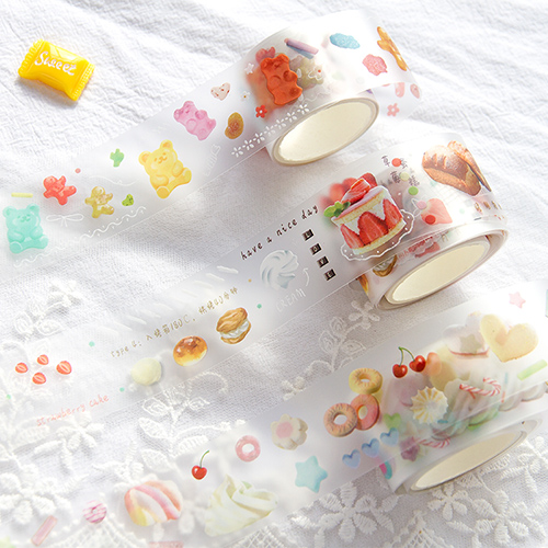 Clear Washi Tape Stickers